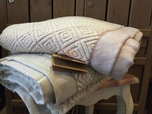купить Полотенце махровое Buldans - Knidos brown