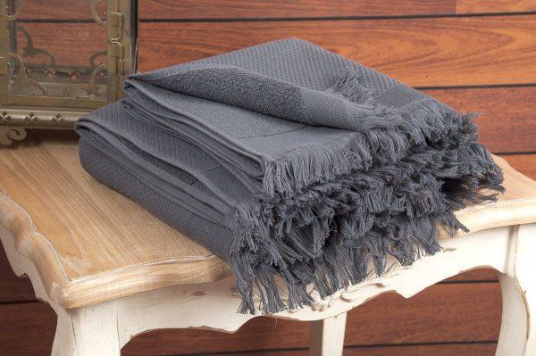 купить Полотенце махровое Buldans - Siena Antracite