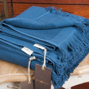 купить Полотенце махровое Buldans - Siena Midnight Blue