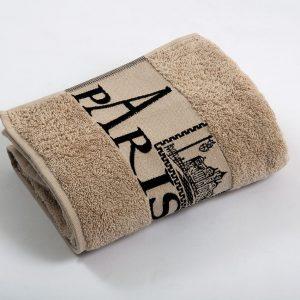 купить Полотенце махровое Cestepe - Paris cotton brown 50x90