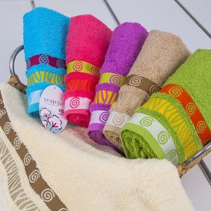 Полотенце махровое Cestepe – Tugra cotton 50×90