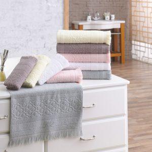 Полотенце махровое Marie Claire – Sauvage beyaz