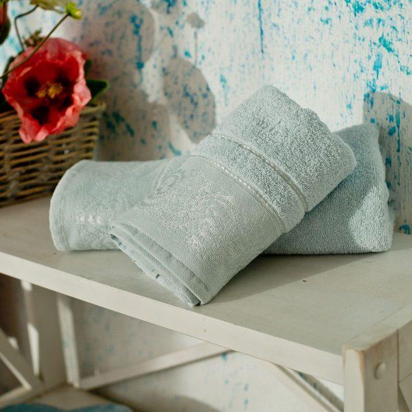 купить Полотенце махровое SoundSleep Odesse светло-голубое