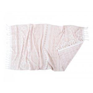 Полотенце пляжное Irya – Lena pudra 90×170