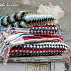 Полотенце Barine – Multicolor Blue Shade 50×100