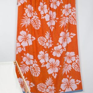 Полотенце Barine Pestemal – Aloha Oranj 90×160