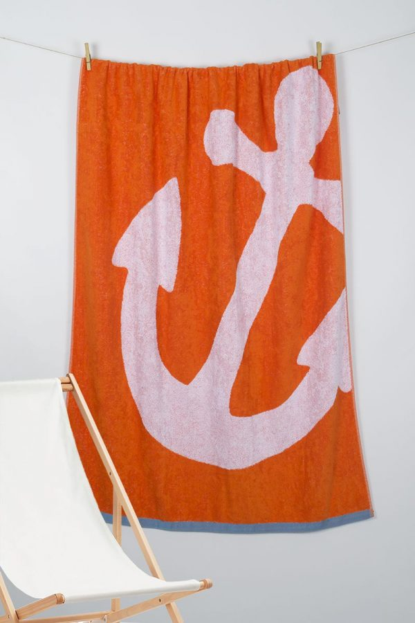 купить Полотенце Barine Pestemal - Anchor Oranj 100x150