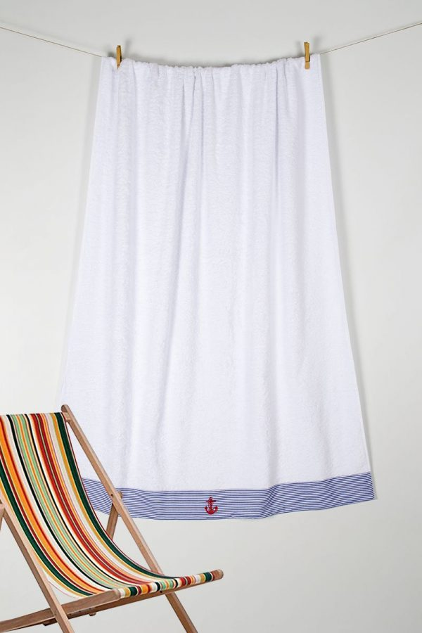 купить Полотенце Barine Pestemal - Anchor Stripy 100x150