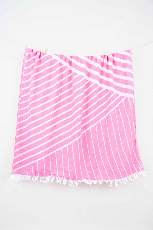купить Полотенце Barine Pestemal - Cross Pink 95x165
