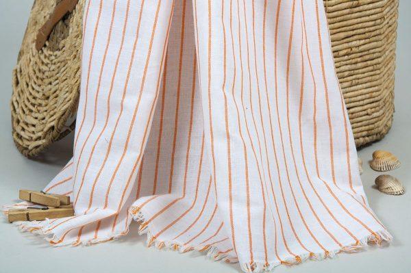 купить Полотенце Barine Pestemal - Linea Orange 90x170