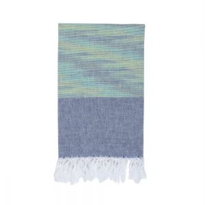 Полотенце Barine Pestemal – Marble Green-Indigo 90×160