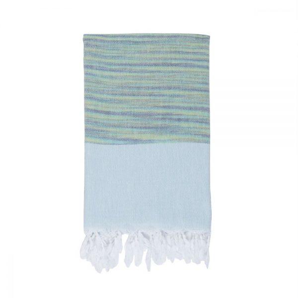 купить Полотенце Barine Pestemal - Marble Green-Mint 90x160