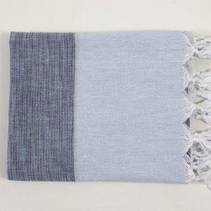 купить Полотенце Barine Pestemal - Marble Indigo-P.Blue 90x160