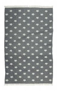 купить Полотенце Barine Pestemal - Stars Siyah 90x160