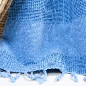 Полотенце Barine Pestemal – Stone Denim 85×160