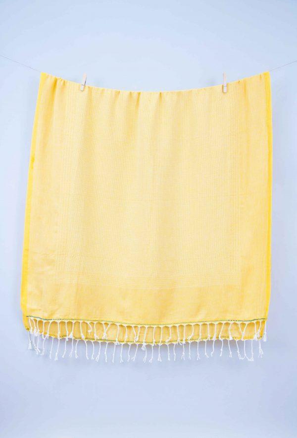 купить Полотенце Barine Pestemal - Tan Saffron 100x175