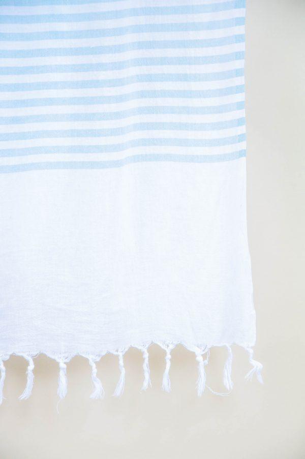 купить Полотенце Barine Pestemal - White Imbat Mint 90x170