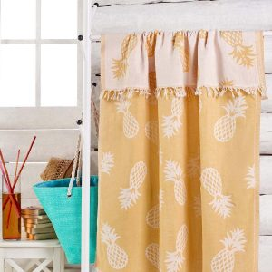 купить Полотенце Eponj Home Jakarli - Ananas koyu sari 100x180