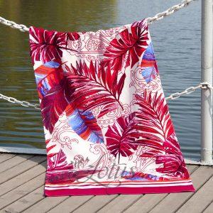 купить Полотенце Lotus пляжное - Paradise Fusya 75x150