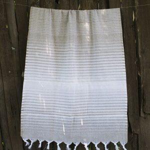 купить Полотенце Lotus Pestemal - Beige 11 Micro stripe 75x150