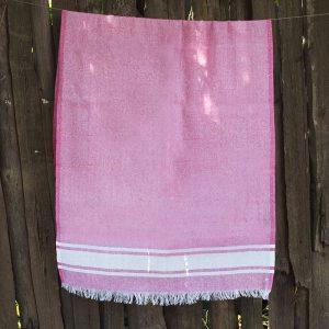 купить Полотенце Lotus Pestemal - Pink 01 Simple stripe 75x150