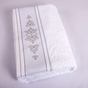 купить Полотенце Shamrock - Ottoman white 50x90