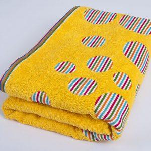 купить Полотенце Shamrock - Rainbow желтый 100x145