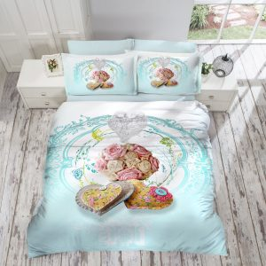 купить Постельное Белье Gokay Hearts 200x220