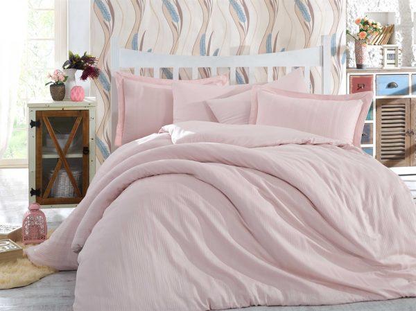 купить Постельное Белье Hobby Exclusive Sateen Diamond Stripe Розовый