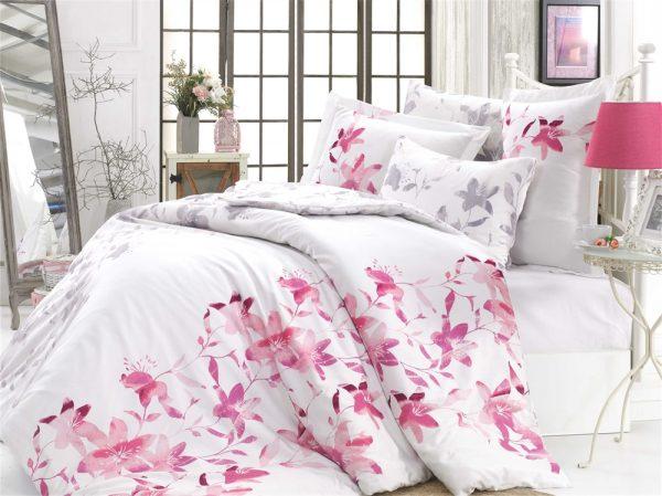 купить Постельное Белье Hobby Exclusive Sateen Lucia Розовый 200x220