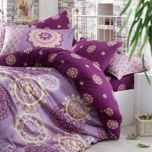 Постельное Белье Hobby Exclusive Sateen Ottoman Фиолетовый