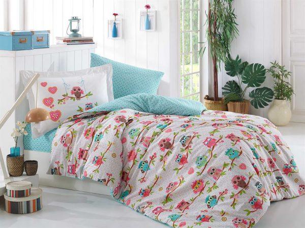 купить Постельное Белье Hobby Poplin Candy Розовый 160x220