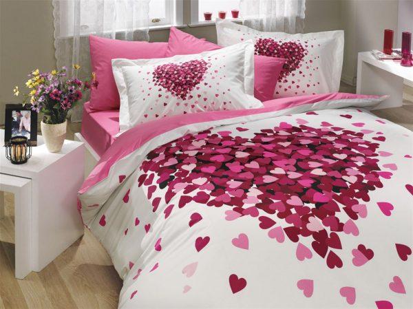 купить Постельное Белье Hobby Poplin Juana Розовый 200x220