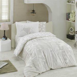 купить Постельное Белье Hobby Poplin Love Серый 160x220