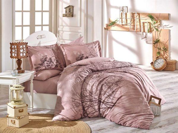 купить Постельное Белье Hobby Poplin Margherita Розовый 200x220