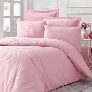 купить Постельное Белье Victoria Stripe Sateen Line Розовый 200x220
