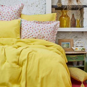 Постельное белье Пике Karaca Home – Picata sari 2018-2 200×220