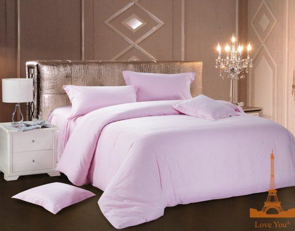 купить Постельное белье Сатин Love You розовый 200x220