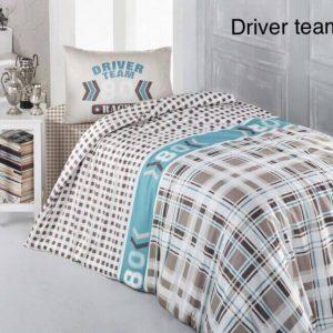 Постельное белье ТМ Altinbasak Driver Team Bej 160×220