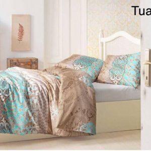 Постельное белье ТМ Altinbasak Tuana Kahve 160×220 (2 шт)