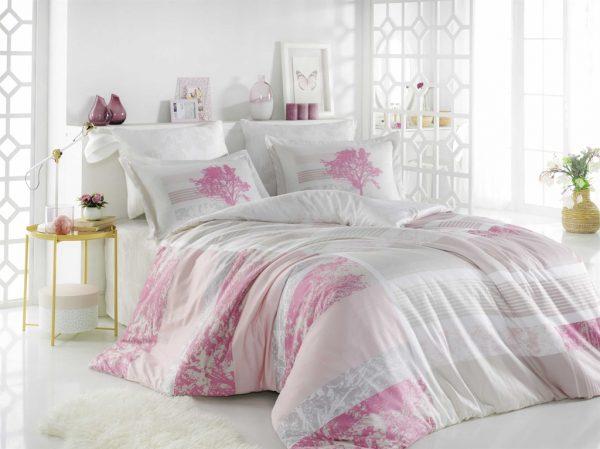 купить Постельное белье ТМ Hobby Exclusive Sateen Elsa pink 200x220