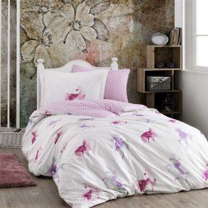Постельное белье ТМ Hobby Poplin Mia pink 160×220