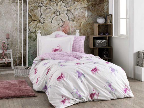 купить Постельное белье ТМ Hobby Poplin Mia pink 160x220