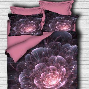Постельное белье ТМ Lighthouse Ранфорс 3D Astra pink 200×220