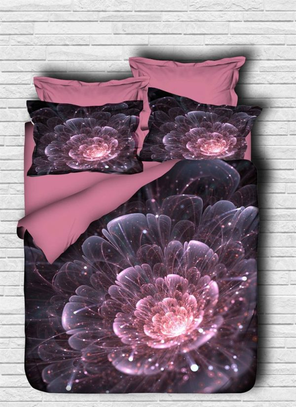 купить Постельное белье ТМ Lighthouse Ранфорс 3D Astra pink 200x220