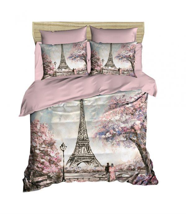 купить Постельное белье ТМ Lighthouse Ранфорс 3D Paris Spring 200x220