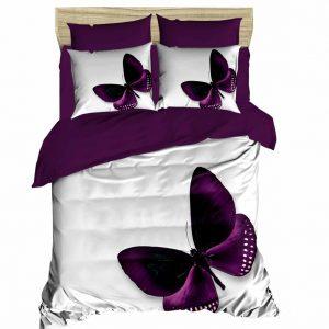 Постельное белье ТМ Lighthouse Ранфорс 3D Purple Dream 200×220