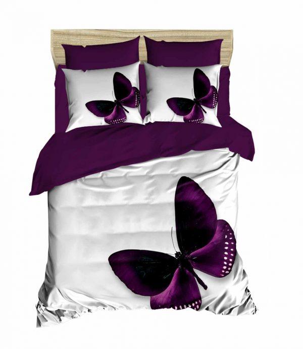 купить Постельное белье ТМ Lighthouse Ранфорс 3D Purple Dream 200x220