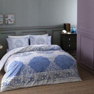 Постельное белье ТМ TAC Aryan Blue 160×220 (2 шт)
