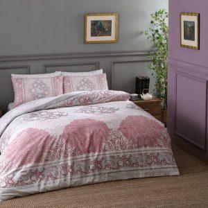 Постельное белье ТМ TAC Aryan Pink 160×220 (2 шт)